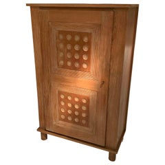 Cerused Oak Cabinet, France, 1940s