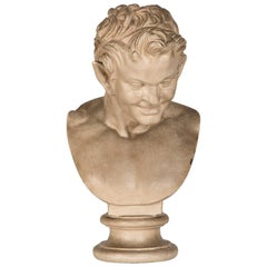 Antique German Plaster Bust Germany Hohenzollern Collection, circa 1890