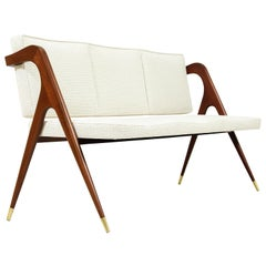 Mexican Modernist Sofa by Eugenio Escudero