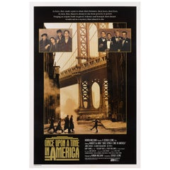 """Once Upon a Time In America"" Original US Movie Poster"