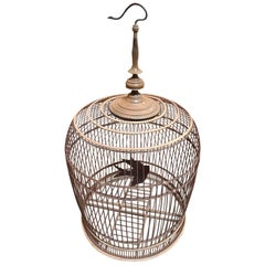 Wooden Chinese Bird Cage