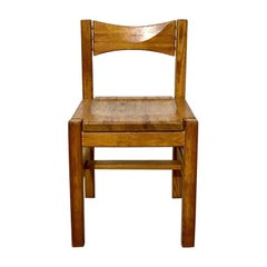 Midcentury Pine Chair by Ilmari Tapiovaara for Laukaan Puu Oy, Finland, 1960s
