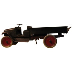 Antique 1920s Pressed Steel Buddy L Dump Truck