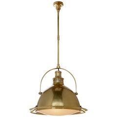 Pivoting Industrial Ceiling Lamp