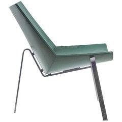 """Green """"Schalenfauteuil"""" Mod. 4050 by Benedikt Rohner Prototype"""