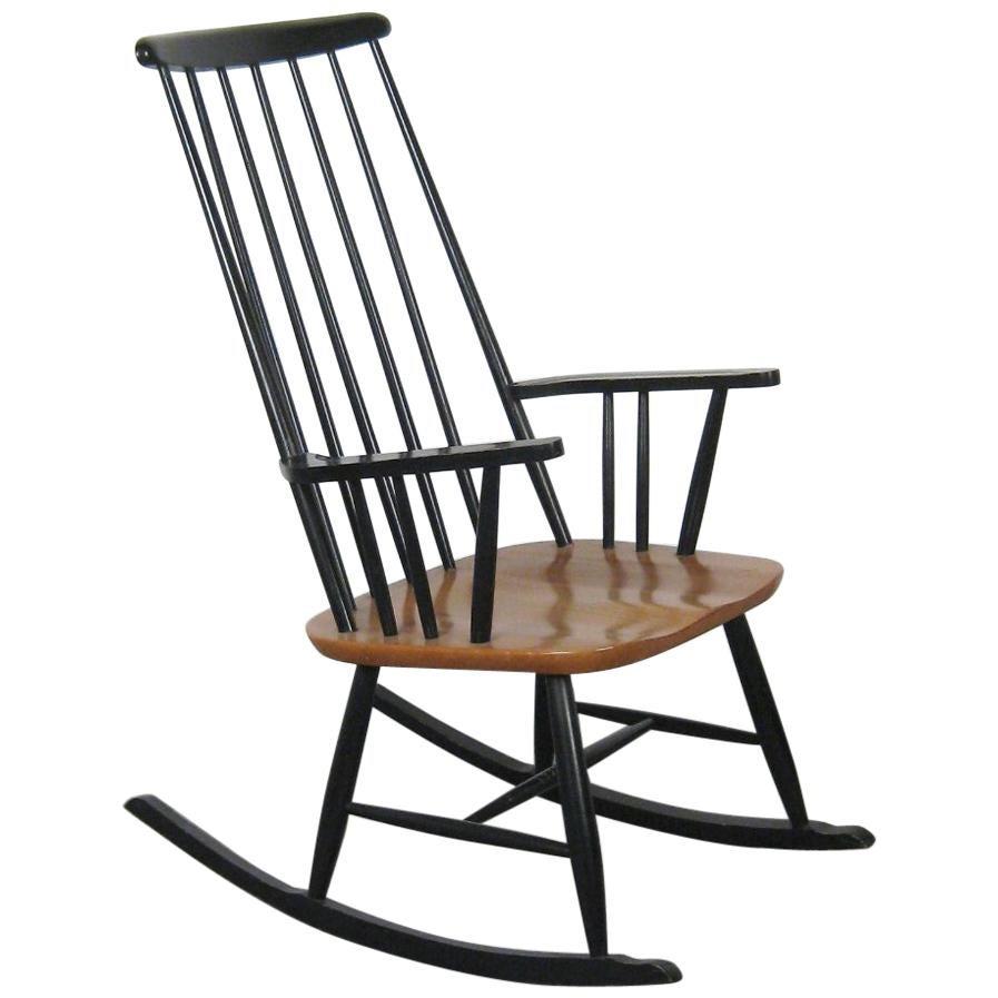 Rocking Chair by Ilmari Tapiovaara for Asko, 1950s