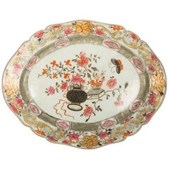 Large Antique Chinese Porcelain Platter