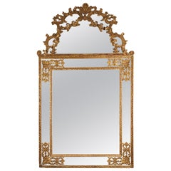An Early 19th Century French Gilt Louis XV Style Mirror