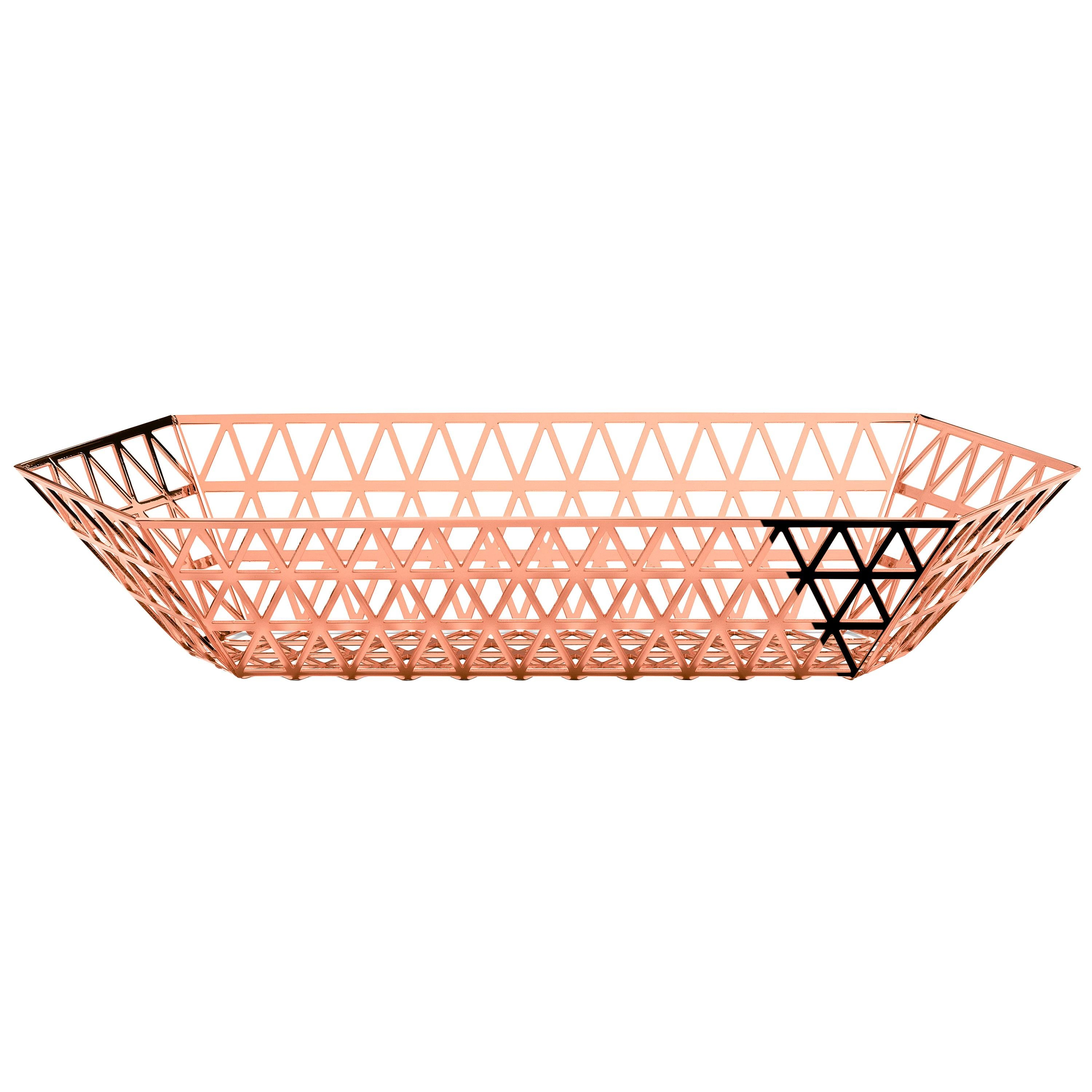 Ghidini 1961 Tip Top Limousine Tray in Rose Gold by Richard Hutten