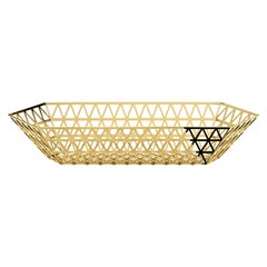 Ghidini 1961 Tip Top Limousine Tray in Gold by Richard Hutten