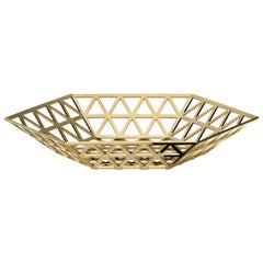 Ghidini 1961 Tip Top Flat Tray in Gold by Richard Hutten