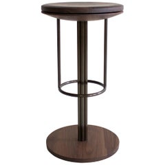 Inez Modern Barstool or Counter Stool with Swivel