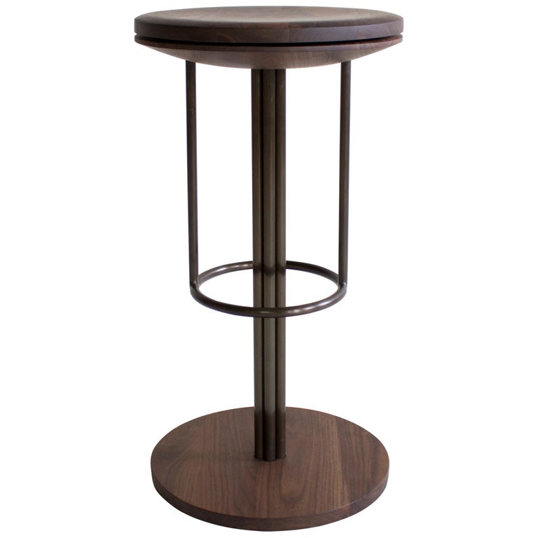 Inez Modern Barstool Or Counter Stool With Swivel For Sale