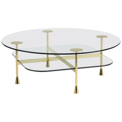 Ghidini 1961 Da Vinci Round Table in Crystal by Richard Hutten