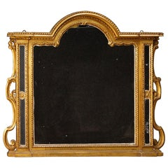 20th Century Carved And Gilded Wood Italian Mirror, 1930