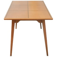 Small Swiss Modernist Dining Table by Hans Bellmann and Horgen Glarus, 1950s