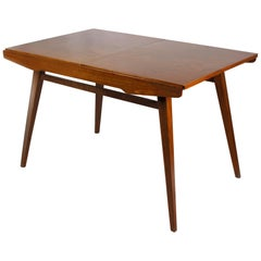 Walnut Folding Dining Table from Tatra, 1960s