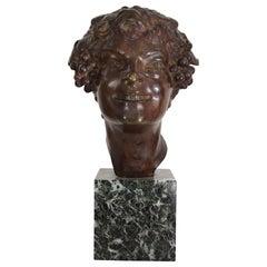 Art Deco Bronze by French Sculptor Etienne Forestier