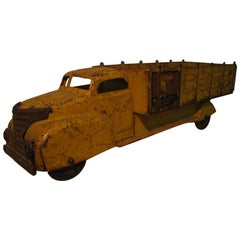 Antique Marx Pressed Steel Coca Cola Truck, circa 1949