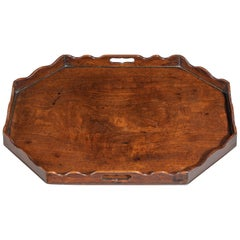 Georgian Mahogany Tray