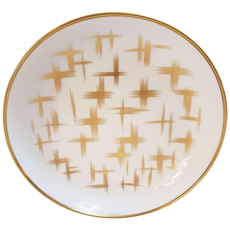 "Hermès Porcelain ""Voyage En Ikat"" Mixed Set For Sale"