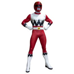 Life-Size Mighty Morphin Red Power Ranger, 1999 Power Rangers Resolves Galaxy