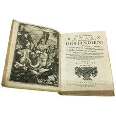 Antique Book, Oost-Indien, 1694 by Frikius, Hesse and Schweitzer, Simon de Vries