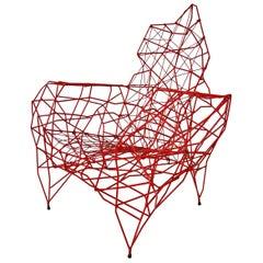 Red 'Pylon' Chair