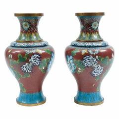 Late 19th Century Pair of Decorative Pieces / Vases