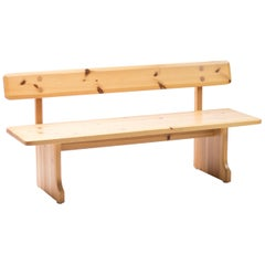 Pine Bench by Carl Malmsten