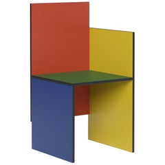 'Avant Garde' Chair, Bauhaus Style 'One Arm', Color of Your Choice