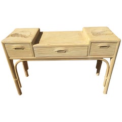 20th Century, French Wooden Console Table, 1980s