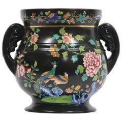 English Regency Chinoiserie Spode Potpourri Porcelain Jar