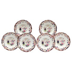 Ridgway English Ironstone Chinoiserie Plates with Simlay Pattern