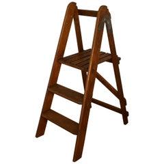 Easy Action Pine Step Kitchen Step Ladder