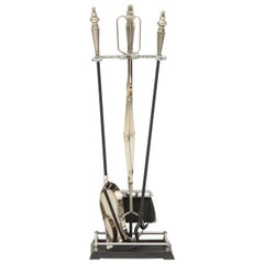 Hollywood Regency Fireplace Tools