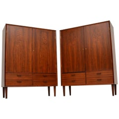 1960s Pair of Danish Cabinets by Borge Mogensen