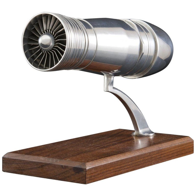 Jet Aircraft Engine Model, circa 1960 For Sale