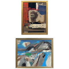 Selection of Abstract Paintings