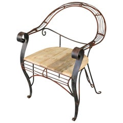 Early 20th Century Garden Chair
