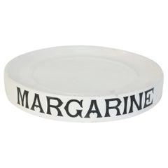 Antique English Ironstone Margarine Display Stand
