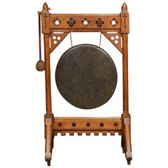 Mid-Victorian Gothic Revival Dinner Gong