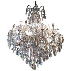 Magnificent Schonbek New Orleans Collection Heritage Handcut Crystal Chandelier