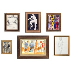 Selection of Modernist Figural Art
