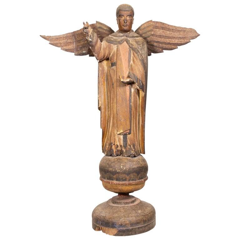 St. Thomas Santos Sculpture For Sale