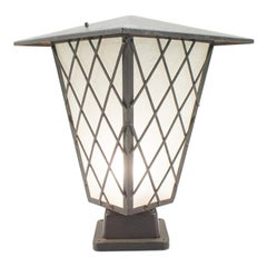 Large Mid-Century Modern Outdoor Lamp from Germany, 1950s