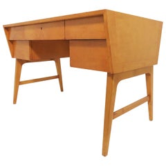 Edmond Spence Mid-Century Modern Writing Desk, Made in Sweden, circa 1950s
