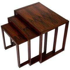 Set of Danish Rosewood Nesting Tables