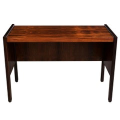 Restored Modern Rosewood Wood Small Writing Desk