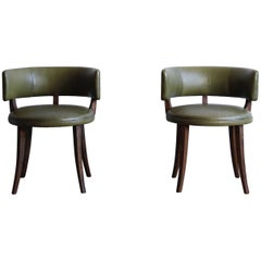 Pair of Low Chairs Attributed to Magnus Stephensen